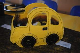 Makerist - Panier voiture en feutrine - 1