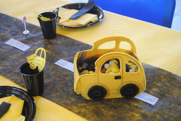 Makerist - Panier voiture en feutrine - Créations de couture - 2