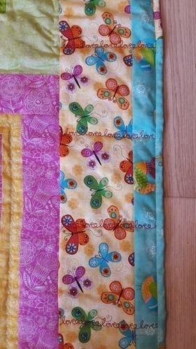 Makerist - fröhlicher Vorhang für Abstellkammertürchen - Patchwork-Projekte - 2