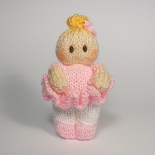 Makerist - Ballerina Bitsy Baby Doll - Knitting Showcase - 1
