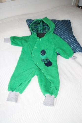 "Makerist - Baby-Overall ""Kleine Raupe"" - Nähprojekte - 1"