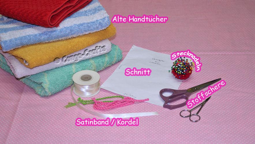 Makerist - DIY - Videoanleitung Recycling alter Handtücher - Nähprojekte - 3