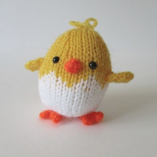 Makerist - Eggy Chicks - Knitting Showcase - 1
