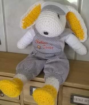 Sweet le lapin au crochet