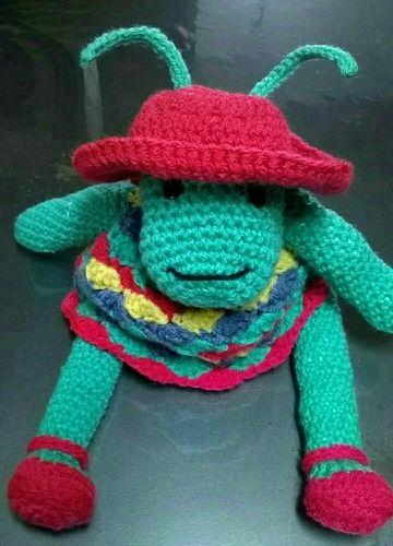 Makerist - Annette la sauterelle au crochet  - Créations de crochet - 1