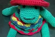 Makerist - Annette la sauterelle au crochet  - 1