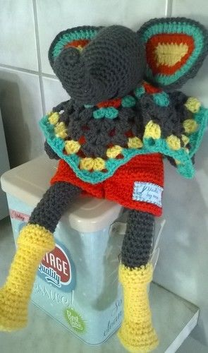 Makerist - Marius doudou éléphant au crochet  - Créations de crochet - 1