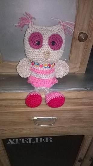 Makerist - Melle Lola la chouette au crochet  - 1