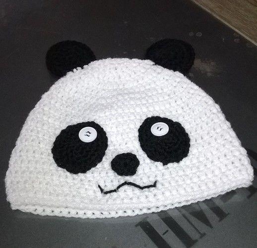 Makerist - Bonnet Panda - Créations de crochet - 1