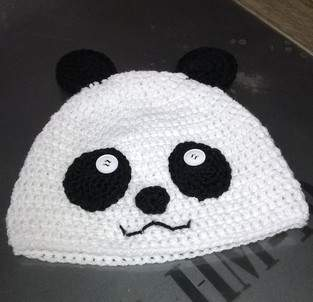 Makerist - Bonnet Panda - 1