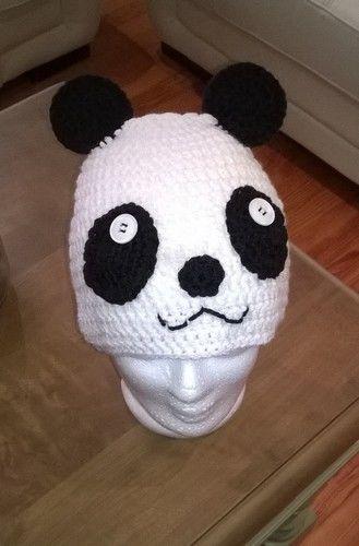 Makerist - Bonnet Panda - Créations de crochet - 2