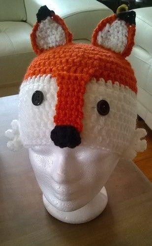 Makerist - Bonnet Renard  - Créations de crochet - 2