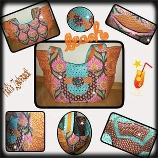 Makerist - Big Beach Bag Gr. M - 1