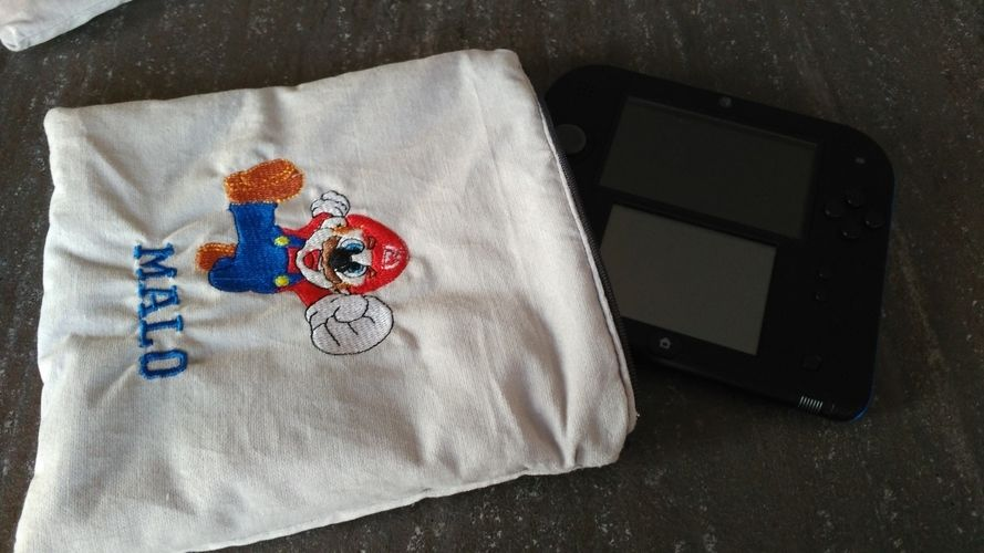 Makerist - Pochette Nintendo 2 DS - Créations de couture - 2