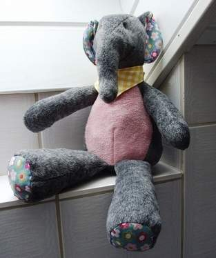 "Makerist - Elefant ""Kumi"" - 1"