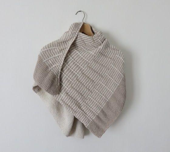 Makerist - Châle Avant l'orage - Créations de tricot - 2