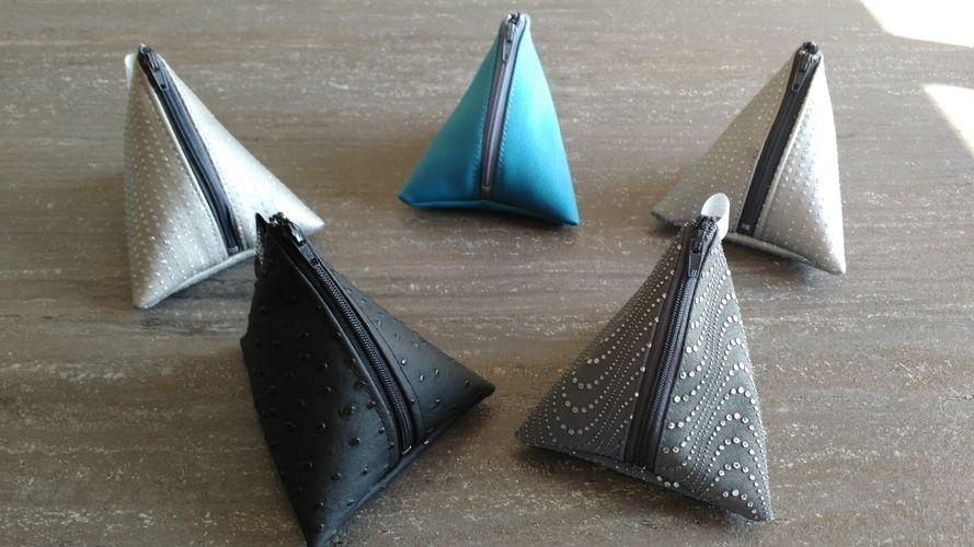 Makerist - Pochette berlingot simili cuir - Créations de couture - 1