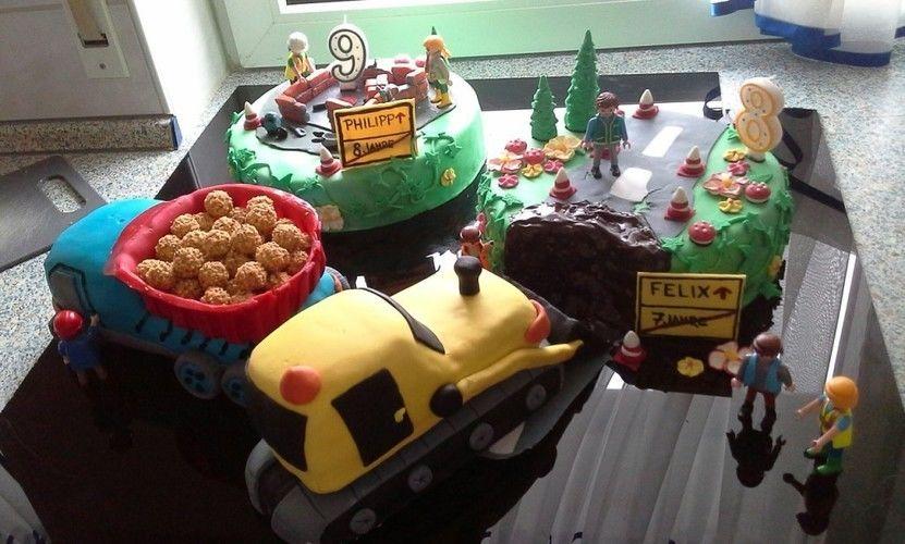 Makerist - Baustellen Torte - Torten, Cake Pops und Cupcakes - 1