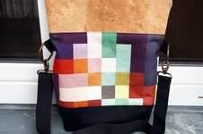 Makerist - Pixel Foldover - meine erste selbstgenähte Tasche - 1