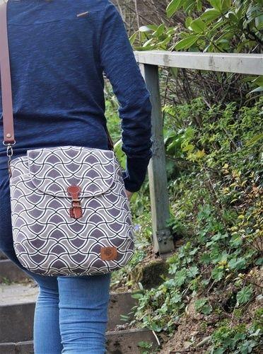 Makerist - Gartherer Crossbody Bag Noodlehead - Nähprojekte - 1