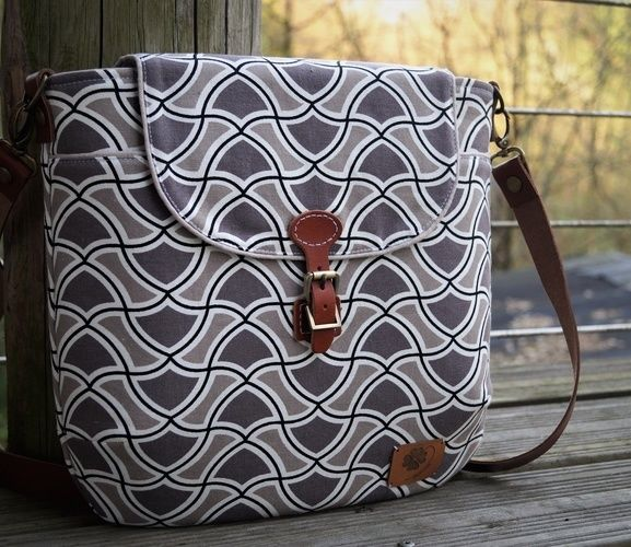 Makerist - Gartherer Crossbody Bag Noodlehead - Nähprojekte - 2
