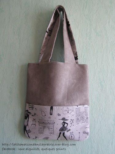Makerist - Tote bag beige - Créations de couture - 1