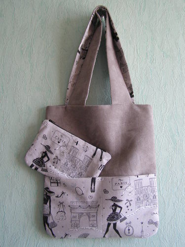 Makerist - Tote bag beige - Créations de couture - 3