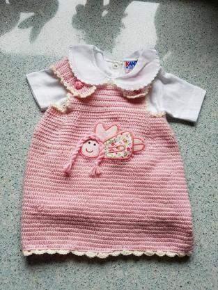 Makerist - Kleidchen, rosa - 1