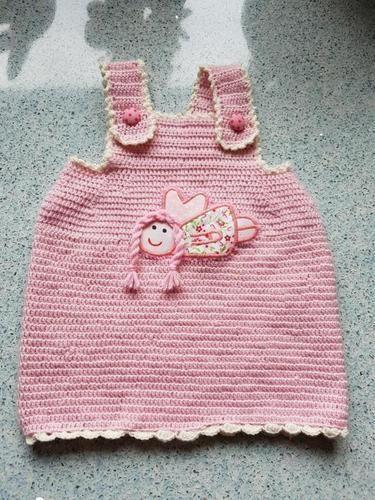 Makerist - Kleidchen, rosa - Häkelprojekte - 2