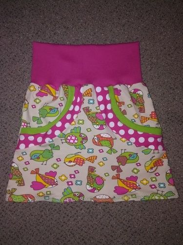 Makerist - Sommerrock für Mini Mädels - Nähprojekte - 1