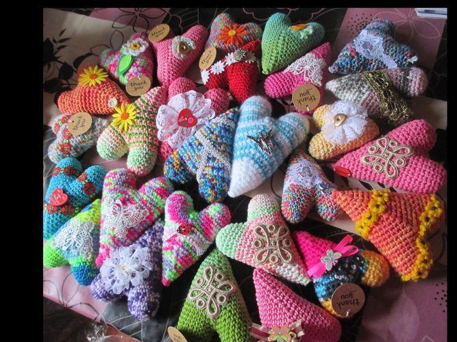 Makerist - Herzchen für alle Gelegenheiten und nicht nur zum Muttertag! - Häkelprojekte - 1