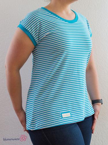 Makerist - Sommershirt Nr. 3: Muttis Shirt/Kleid (Freebook) - Nähprojekte - 1