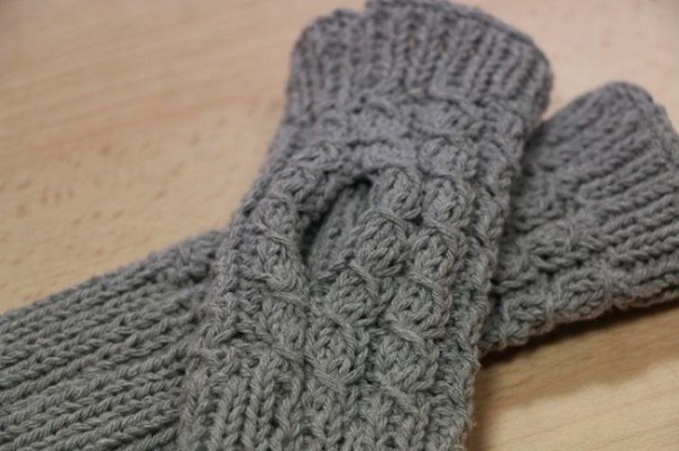 Makerist - Les mitaines de Lucie - Créations de tricot - 2