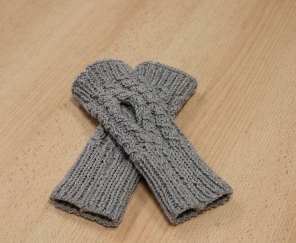 Makerist - Les mitaines de Lucie - Créations de tricot - 3
