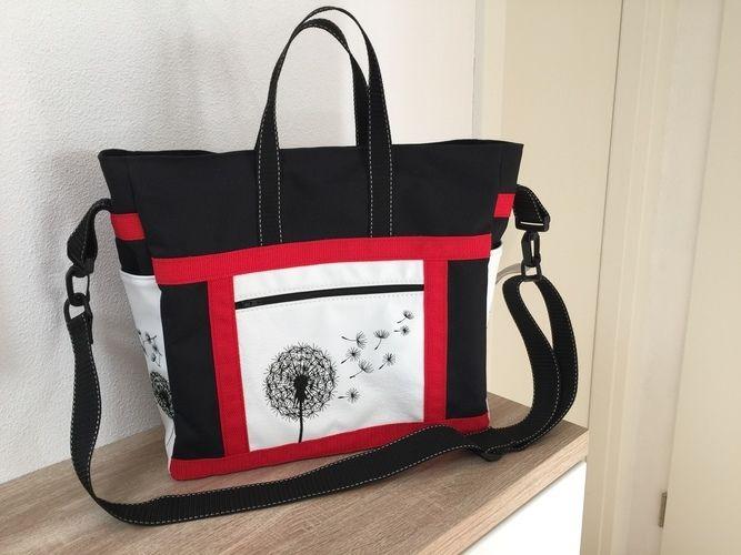 """Makerist - Eine-für-Alles Tasche """"Big Elli"""" (Nähanleitung und Schnittmuster) von SHESMILE - Nähprojekte - 1"""