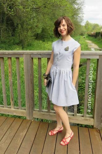 Makerist - Ma robe Simone (patron Louis Antoinette Paris) - Créations de couture - 1