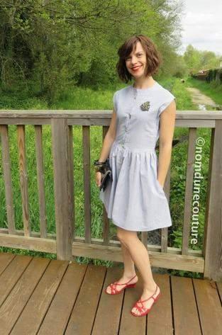 Ma robe Simone (patron Louis Antoinette Paris)