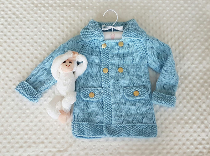 Makerist - Christopher Robin Jacket for 1 to 10 years - Knitting Showcase - 1
