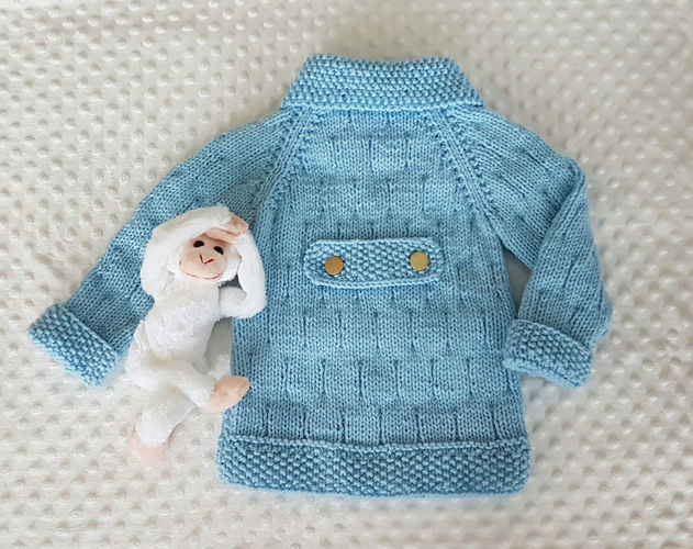 Makerist - Christopher Robin Jacket for 1 to 10 years - Knitting Showcase - 2