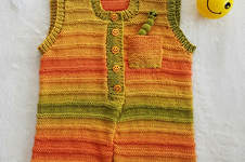 Makerist - Sunshine Smiles Playsuit in DK Cotton yarn - 1