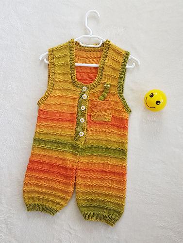 Makerist - Sunshine Smiles Playsuit in DK Cotton yarn - Knitting Showcase - 3