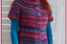 Makerist - Over The Rainbow Cardigan-Top, so versatile, is it a cardigan is it a top? - 1