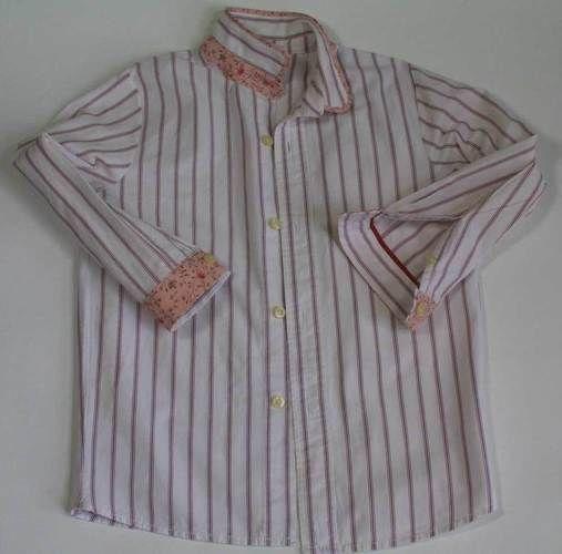 Makerist - Upcycling: Herrenhemd wird zur Mädchenbluse - Nähprojekte - 1