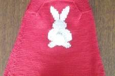 Makerist - Robe motif lapin et sa queue pompon - 1