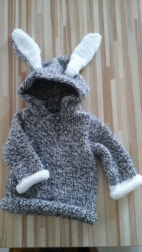 Makerist - Pull lapin - Créations de tricot - 1