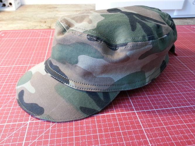 Makerist - BW-Kappe für Adam - Nähprojekte - 1