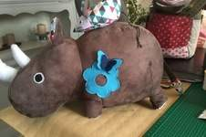 Makerist - Rhinocéros offerts à mes nièces et pour une naissance - 1
