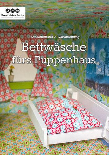 Makerist - Bettwäsche für das Puppenhaus - Nähprojekte - 1