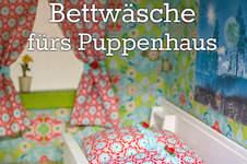 Makerist - Bettwäsche für das Puppenhaus - 1