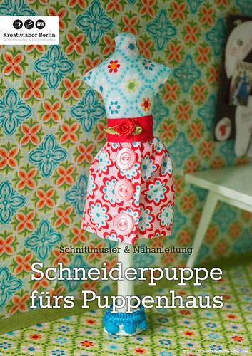 Makerist - Mini-Schneiderpuppe für das Puppenhaus - Nähprojekte - 1
